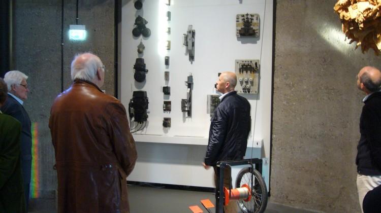 Stefan Lochbühler im Aufzugmuseum