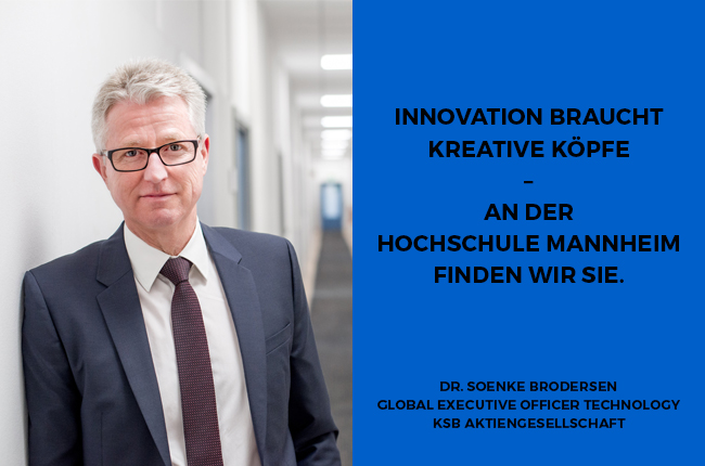 Söhnke Brodersen; Leiter der Forschung und Entwicklung