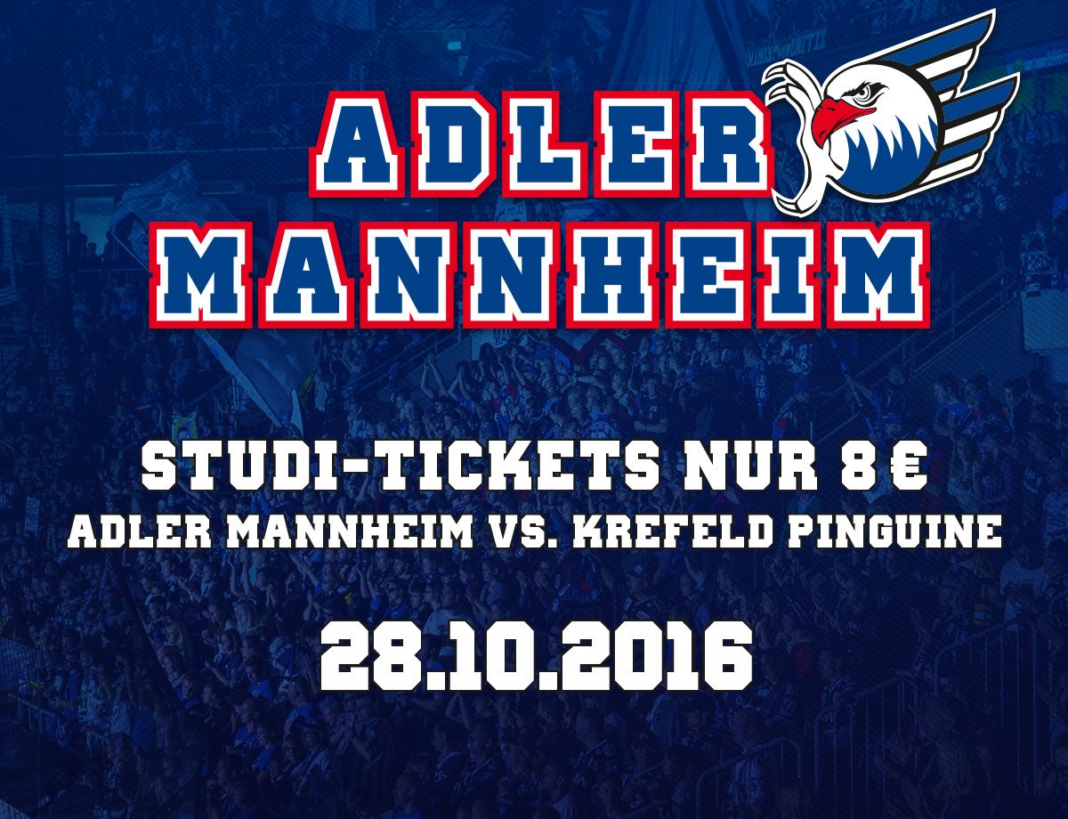 Tickets Adler Mannheim
