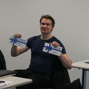 Doppelt ausgezeichnet: Marcus Wachendorf erhält 3. Platz in der Prosa und 1. der Lyrik